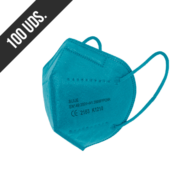 Ffp2 Azul Claro 100uds
