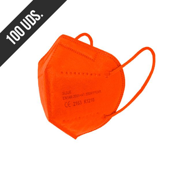 Ffp2 Naranja 100uds