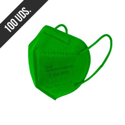 Ffp2 Verde 100uds