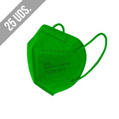 Ffp2 Verde 25uds