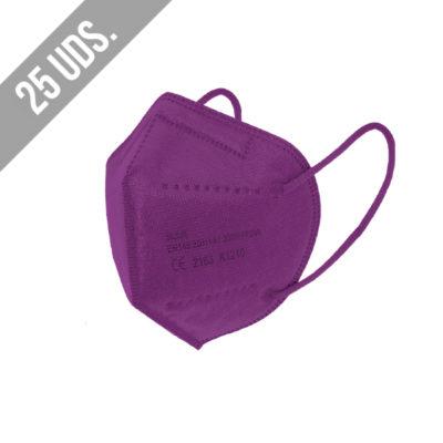 Ffp2 Violeta 25uds